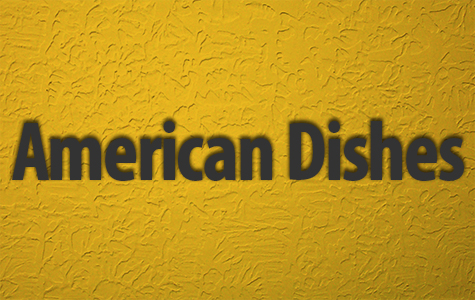 American Dishes Menu