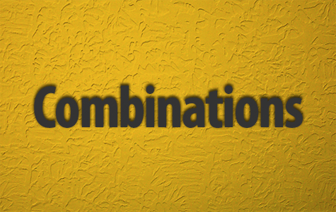 Combinations Menu
