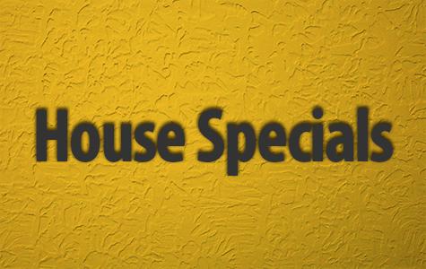 House Specials Menu